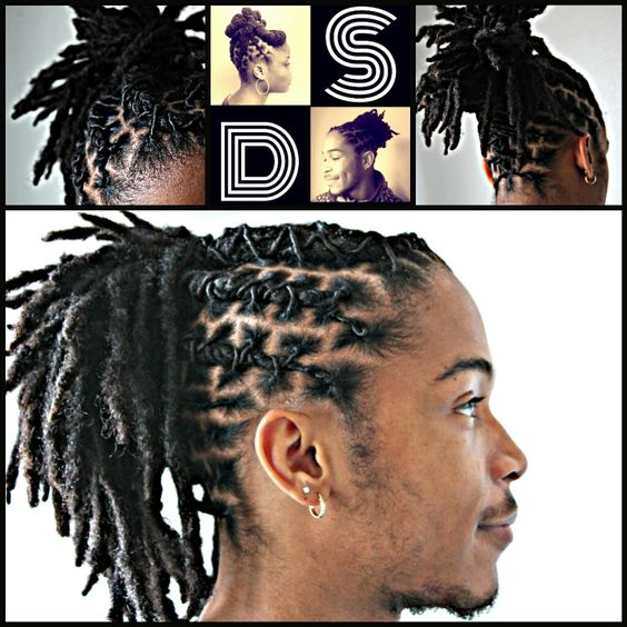 Cool Updo Unique And Dreadlock Styles For Men On Pinterest Hairstyles For Men Maxibearus