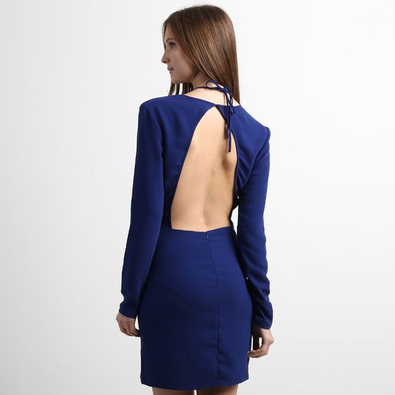 Vestido Carina Duek CD+ Azul Royal+ | Zattini