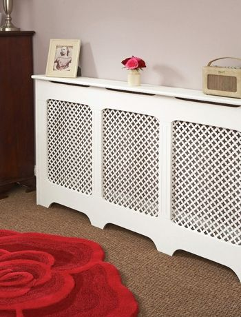 Moorish influenced radiator covering
