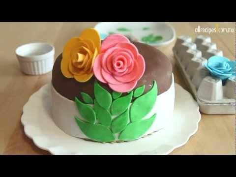 Cómo hacer fondant para pastel - YouTube