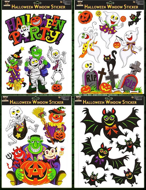 Window Clings   Fall: Halloween & Thanksgiving   Pinterest - Halloween Window Clings. Diy Window Clings Are The Perfect Touch