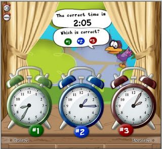 Tons of great online activities for teaching TIME!