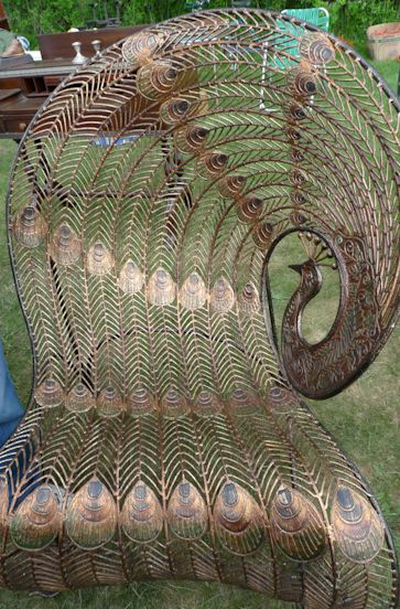 Peacock Chair: