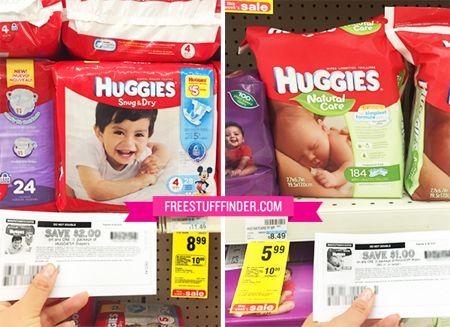 $3.43 (Reg $11.49) Huggies Diapers at CVS