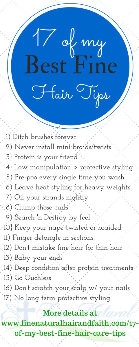 17 Of My Best Fine Hair Care Tips