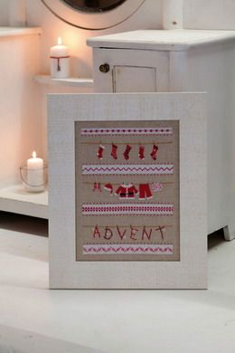 Stickpackung Advent