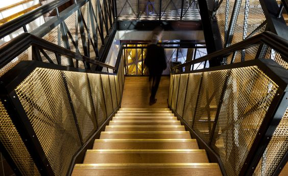 Bread Street Kitchen | Projects | Hoare Lea Lighting | Specialist lighting design consultancy