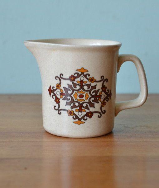 Vintage ceramic jug Mid century Australia