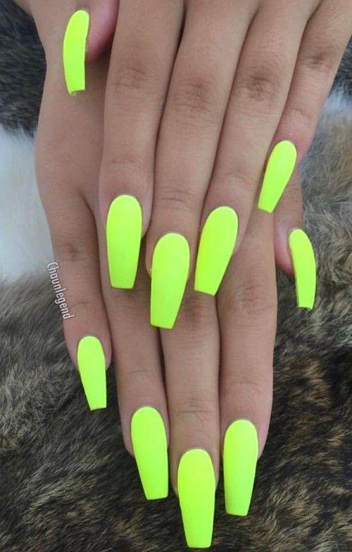 30 Beautiful Summer Nail Art Color Ideas Neon Acrylic Nails Acrylic Nail Designs Stylish Nails Designs