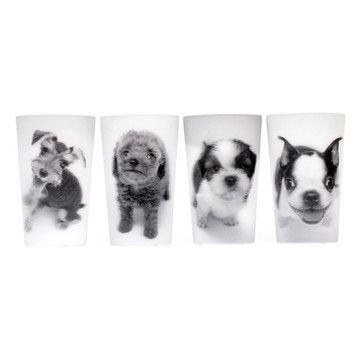 Lenticular Puppy Cups