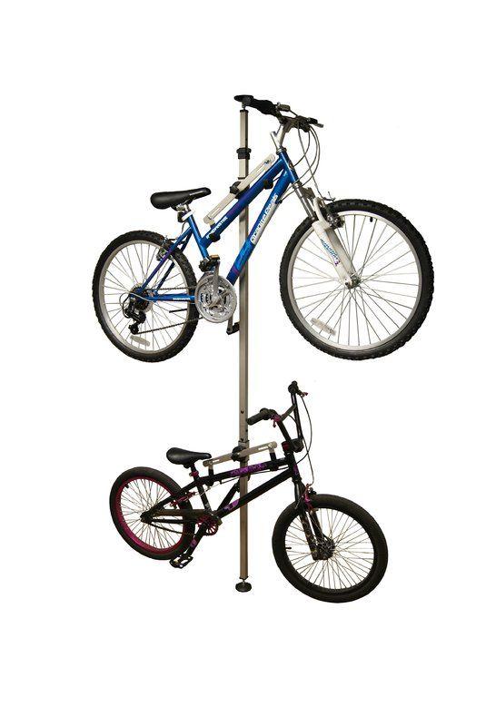 Platinum Series 2 Bike Floor To Ceiling Mounted Bike Rack Best Bike Rack Bike Rack Bike Storage