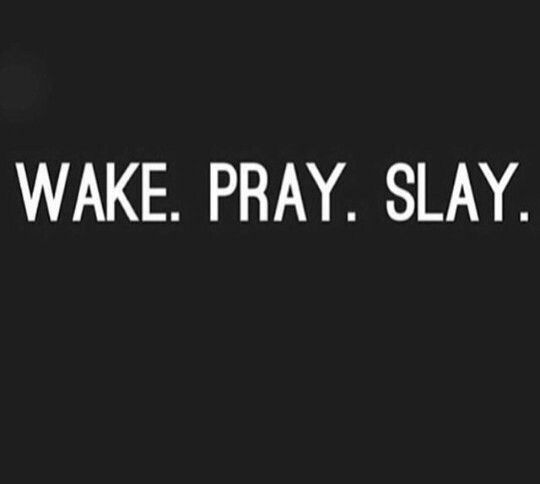 slay wallpaper in words - photo #10
