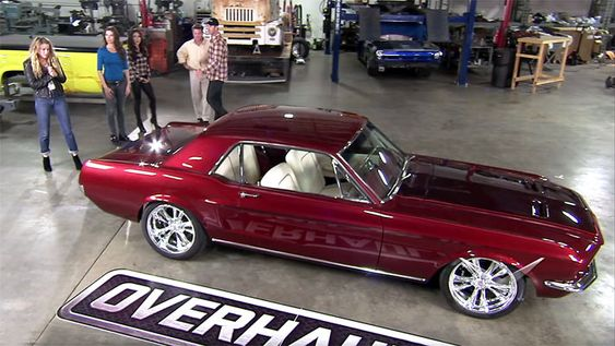 Tears Of Joy From Amber Heard: 1968 Mustang Overhaulin' With Johnny Depp and Chip Foose Click to Find out more - http://fastmusclecar.com/video/tears-of-joy-from-amber-heard-1968-mustang-overhaulin-with-johnny-depp-and-chip-foose/ COMMENT.