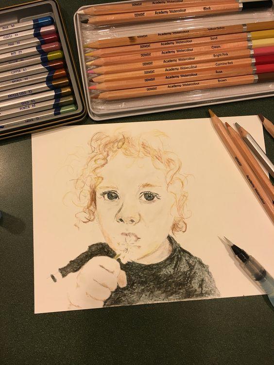In progress: boy with a wish.