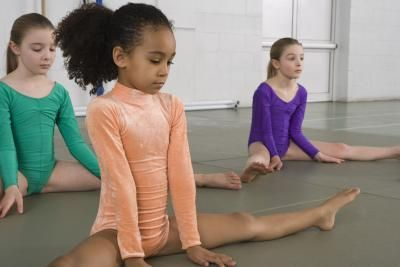 American kids gymnastics : Make a custom bobblehead