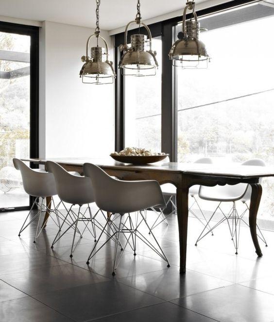 Industrial Chic Lampen Design Anwendungsbereich Wohnzimmer Esszimmer |  Ideas Casa | Pinterest