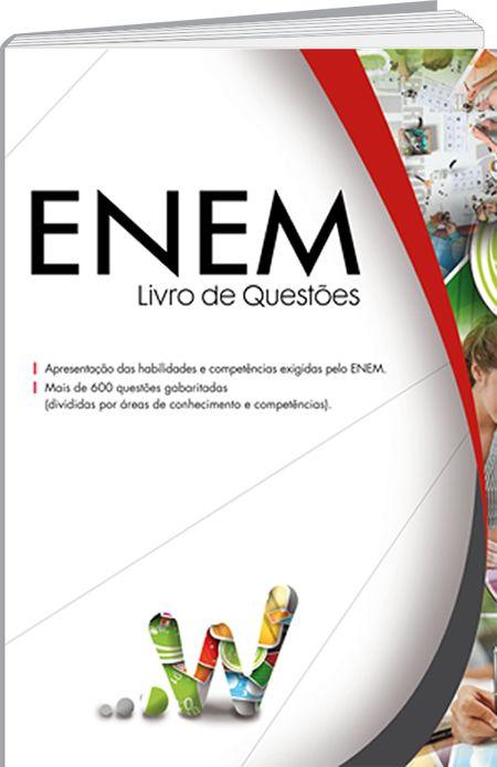 O ENEM - Livro de Questões da Editora W consiste, basicamente, em um volume de questões oriundas das provas do ENEM (2 009 - 2 012). Essas questões estão reunidas de acordo com a área de conhecimento e as respectivas competências. Além das questões, este livro ainda conta com várias propostas de redação oriundas do ENEM.
