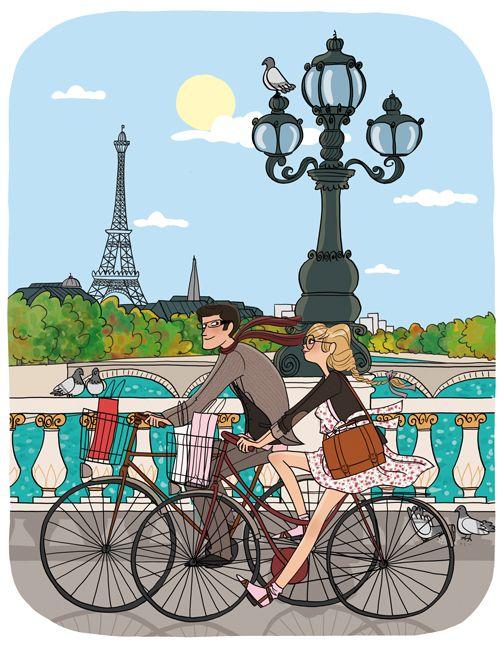 paris bicycles: