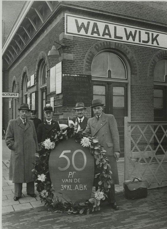 Station 50 Jaar Langstraatse Spoor Comite