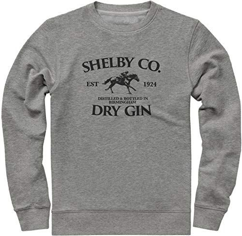 New Vintage Style Shelby Company Gin Inspired By Peaky Blinders Sweatshirt Mens Lightweight Sweatshirt Mens Sweatshirts Hoodie Mens Sweatshirts Sweatshirts