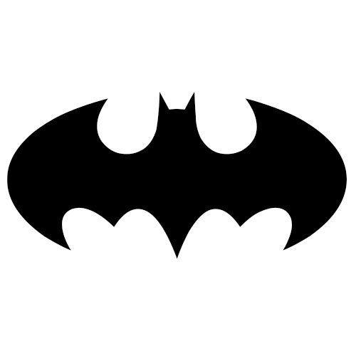 Coloriage Signe Batman.12 Pochoirs Batman Gratuits A Imprimer Et A Decouper Soi