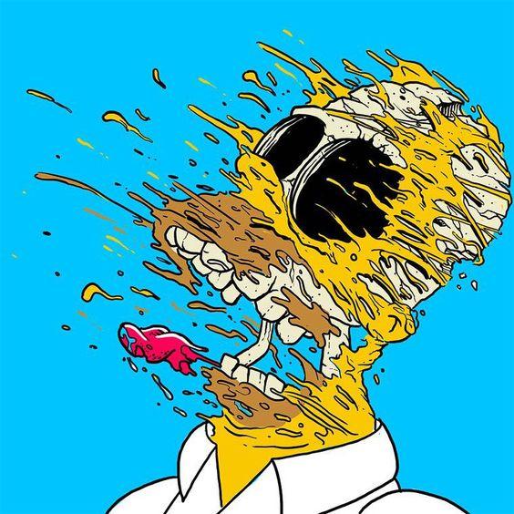 Cultura Pop Explosiva - A arte de Matt gondek