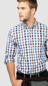 Resultado de imagen para camisas a cuadrados