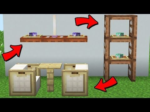 25 Minecraft 1 13 Build Hacks Youtube Minecraft Decorations Minecraft Designs Minecraft Furniture