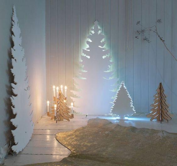 Los 15 árboles de Navidad DIY más originales y creativos del mundo -:
