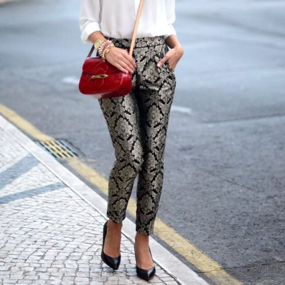 Brocade Trousers - lifestylerstore - http://www.lifestylerstore.com/brocade-trousers/