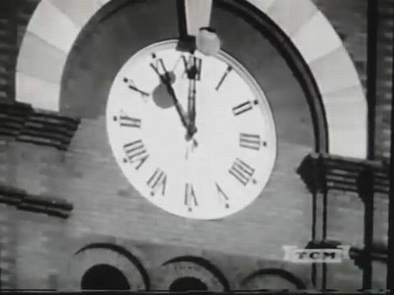 1950's - Marietta, Ga. Courthouse clock tower. AF Reserve, mock nuclear attack clips.