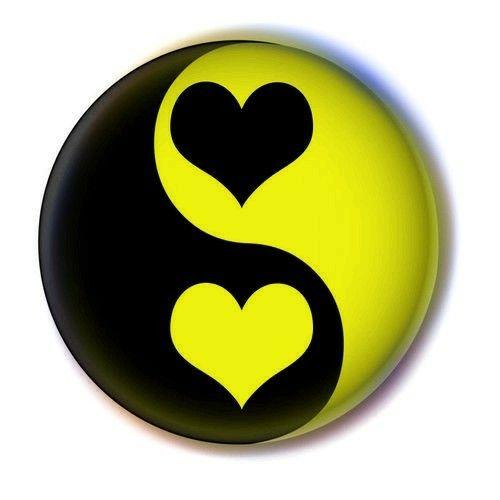 Yellow Heart Yin Yang Yellow Heart Yin Yang Favorite Color