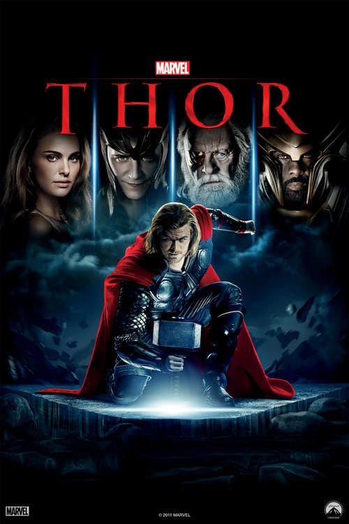 "Movie Poster 2011 Marvels /""Thor/"" Chris Hemsworth Anthony Hopkins 3 Sizes"