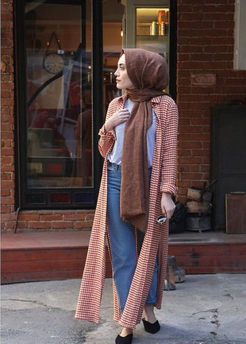 Spring breathy hijab outfits – Just Trendy Girls
