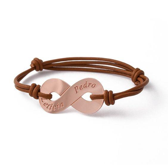 Pulsera Infinito acompañará a quien la lleve en todo momento.  #joyas #joyaspersonalizadas #s&s #silverandsteel #infinito #love #pulsera #brazalete #creatujoya #silver #jewels #jewelery #bracelet #fashion