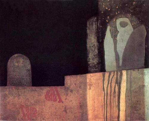 Statue in a Cemetery - Endre Balint