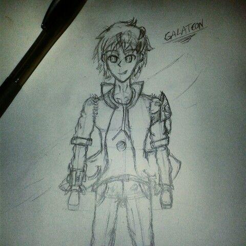 Galateon #boceto #dibujo #sketch #drawing