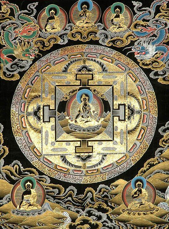 black_white_tara_mandala_with_cosmic_buddhas_tl39.jpg (553×750)
