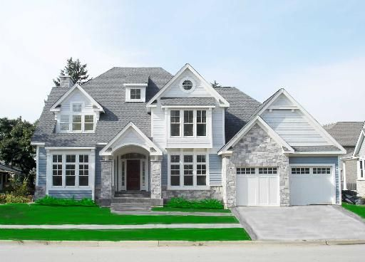the stone hamptons style homes and roof colors on pinterest