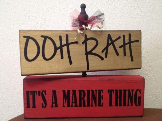 USMC - Marines - Devil Dogs - Leathernecks - Grunts - Jarheads - Semper Fi - Marine Love - Oorah - Marine Accessories - Home Decor