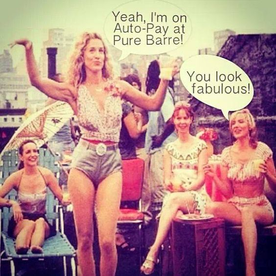 Be fabulous like Carrie - sign up for an Auto-Pay Contract! #PureBarreBeverlyHills #tuck90210