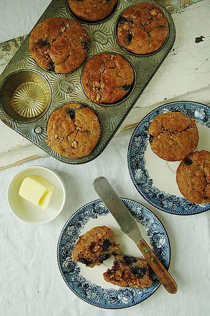 blueberry-grainfree-muffin by KatySheCooks