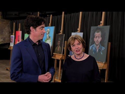 Portrait Artist Of The Year 2020 Episode 9 Youtube In 2020 Portrait Portrait Artist Young Artist