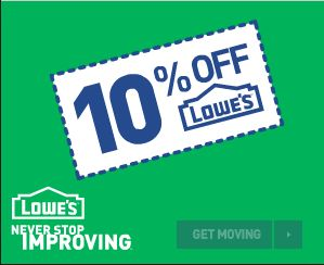 Lowes coupon code lowes 10 off coupon and lowes 10 off on pinterest