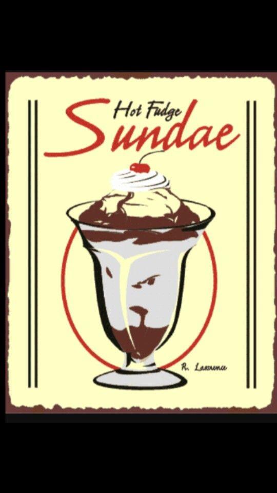 Pin By Laureen Brotzman On Ice Cream Parlor Hot Fudge Vintage