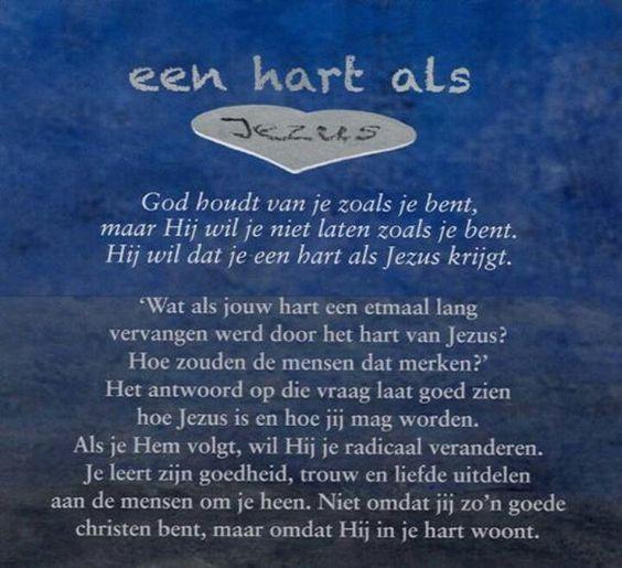 Citaten Uit Een Hart Van Steen : Een hart als jezus bijbelse teksten pinterest