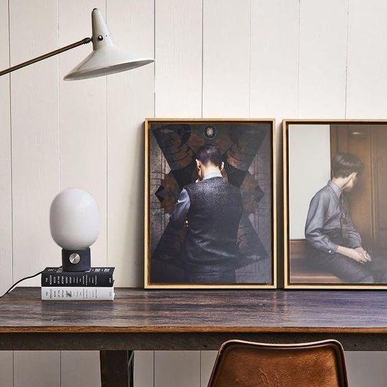 #Repost @elledecoration_nl  Doe ons zo'n home office.. Interieur: @jaimeberiestain Fotografie: @pablucozam #interior #homeoffice #desk #design #erwinolaf @menuworld