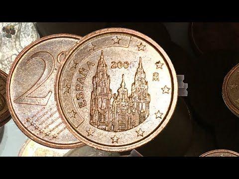 Error De 2 Centimos Muy Valiosos Cuanto Valen Youtube Monedas Coleccionar Monedas Moneda Española