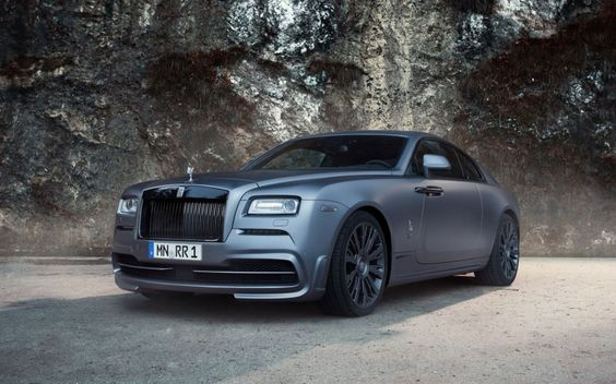 Spofec Tuning Program for the Rolls Royce Wraith- Matte Gunmetal Gray