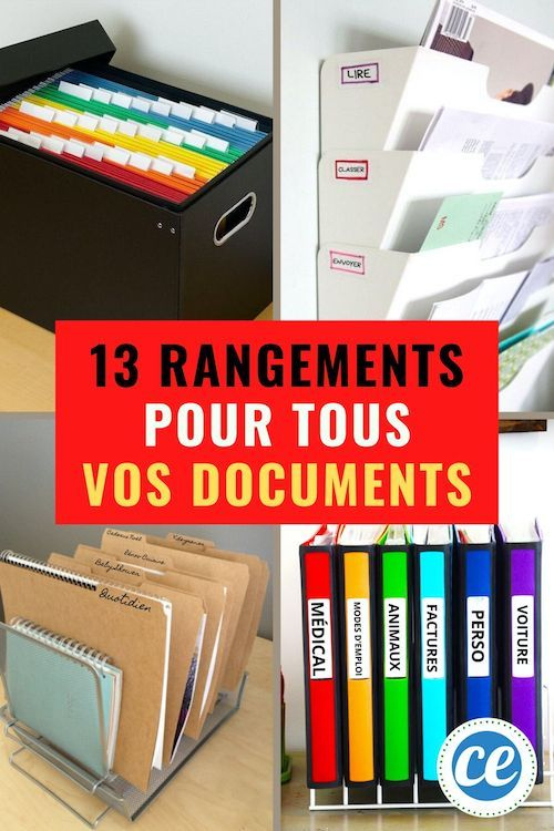 13 Super Idees Pour Ranger Vos Papiers Importants Et Les Retrouver Facilement Rangement Papier Administratif Rangement Papier Bureau Et Rangement Papier